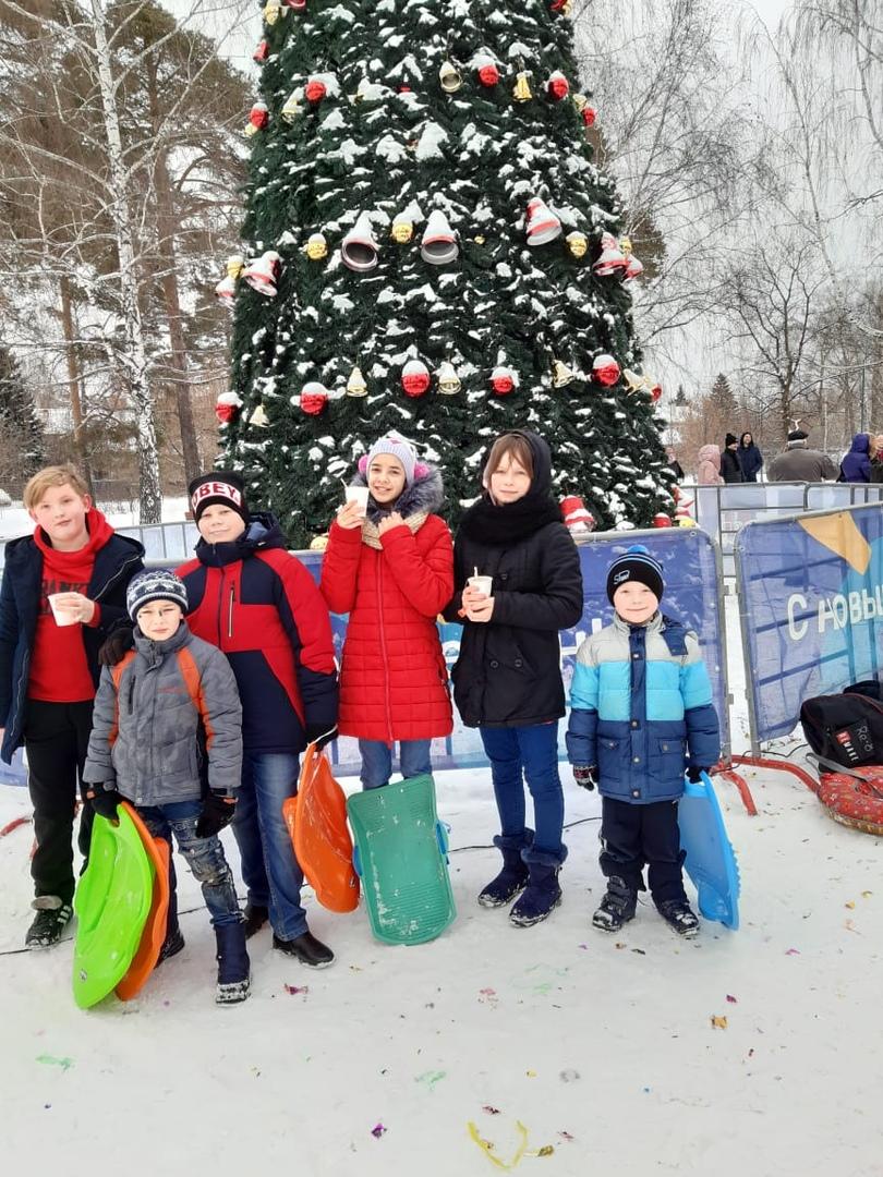 Зимние забавы в парке Урицкого )) было весело ))