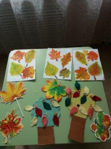 """начала сентября наши воспитатели проводят занятия, посвящённые теме «Осень» 🍁: Занятие:"""" С какого дерева листья?""""Рисование:""""Осенние листья""""; Занятие в технике пластилинового рельефа""""Осенний букет в вазе"""". Воспитанники Центра с любовью делают поделки, аппликации, рисунки и украшают свои группы, создавая осеннее настроение 🍂🍃🍁"""